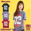【ネコポス対応】Wstudioダブルスタジオ【全3色×2サイズ】02ROCKETTeeフィットネスウェア