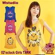 【ネコポス対応】Wstudioダブルスタジオ【全3色】02'oclockGirlsTANKフィットネスウェア