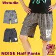 【送料無料】Wstudioダブルスタジオ【全2色】NOISEHalfPantsフィットネスウェア