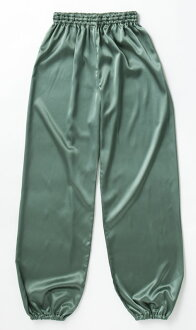 New colors! シルレッチ Tai Chi pants (green HT48)