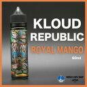 電子タバコ VAPE 【Kloud Republic】Royal Mango / Pinky Peach / Beta Squeeze / Granation ベイプ リキッド