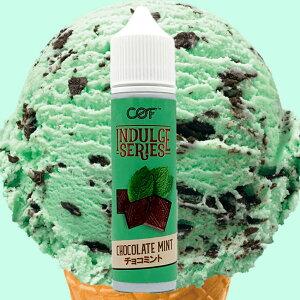 COF INDULGE SERIES CHOCOLATE MINT 60ml チョコレートミント チョコミント 電子タバコ リキッド 爆煙 メンソール スイーツ アイス