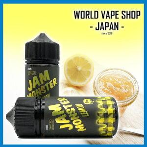 Jam Monster Lemon Jam 100ml ジャムモンスター レモン ジャム バター トースト 電子タバコ リキッド VAPE 爆煙