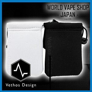 電子タバコ VAPE Vethos Design デバイスポーチ ケース BLACK/WHITE べイプ 電子たばこ 電子煙草