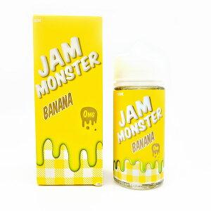 JAM MONSTER BANANA100ml ジャムモンスター バナナ ジャム トースト