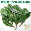 【送料無料】香川産 びわの葉 100g(1袋 生葉15-25枚)♪[国産 無農薬](枇杷葉・びわ生葉)温灸・湿布・びわエキ…