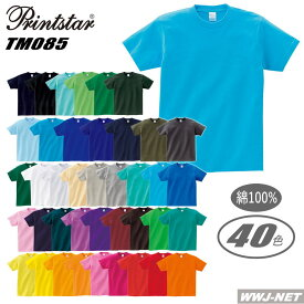 Tシャツ 愛され続ける絶対定番 ヘビーウェイト 半袖 Tシャツ 00085-CVT トムス TM085CVT 胸ポケット無