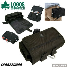 ヒップバッグ ボディバッグ ポーチ アウトドア キャンプ ヒップカーゴ No6 LOGOS(ロゴス) LG88220060