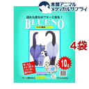 猫砂 ブルーノ(10L*4コセット)【cat_toilet】