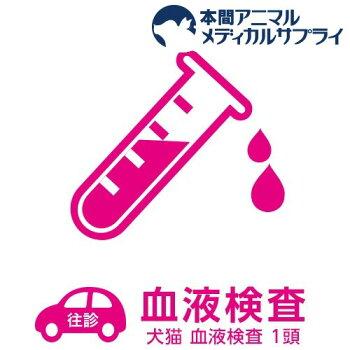 【往診サービス】犬猫血液検査1頭