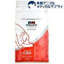 【訳あり】スペシフィック 食事療法食 犬用 CDD リミテッドプロテイン(2.5kg)【スペシフィック】