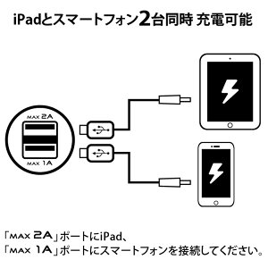 USB2ポート車載充電器ハイパワー3.1A超小型12V~24V対応!【iPhone6s/6/6sPlus/6Plus対応!iPad全機種対応!各社AndroidスマートフォンXperia、Galaxy、AQUOSPHONE、ARROWSなど、GoPro対応】iPadとスマホの同時充電可能!【あす楽対応】P20Feb16