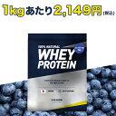 プロテイン エクスプロージョン 100%ホエイプロテイン ブルーベリー味 3kg 日本製 男性 女性 X-PLOSION