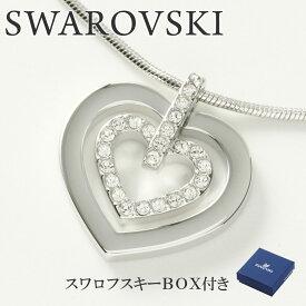 スワロフスキー ネックレス SWAROVSKI 5113776 ハート クリア×シルバー 【acl】【kcs】