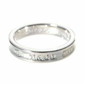 ティファニー TIFFANY ナローリング 指輪 1837 シルバー 6号〜13.5号 【acl】