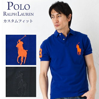 Polo Ralph Lauren Polo KNIM1A10045 POLO RALPH LAUREN custom fit selected eating 2 color (men's)