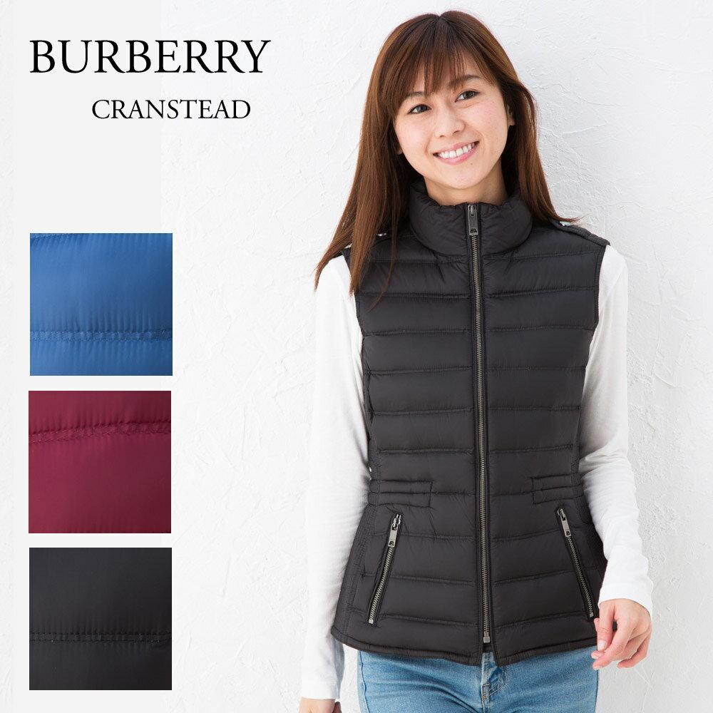 バーバリー BURBERRY レディース キルティングベスト CRANSTEAD 6A79 選べるカラー