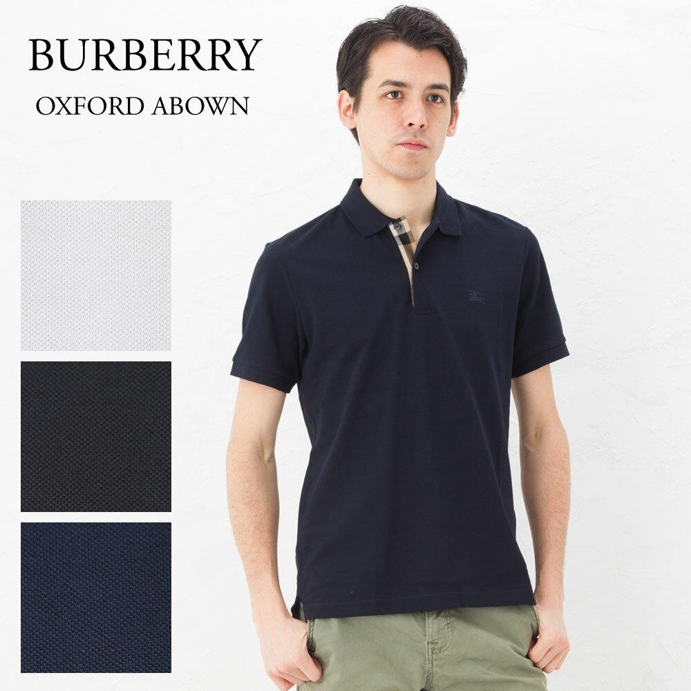 【楽天スーパーSALE 21%OFF】 バーバリー ポロシャツ BURBERRY メンズ OXFORD ABOWN