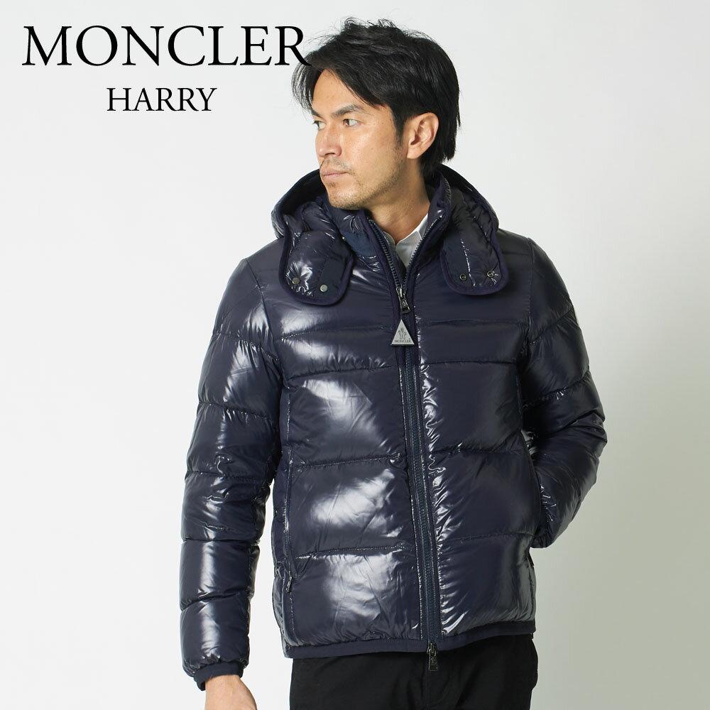 モンクレール MONCLER メンズ ダウンジャケット HARRY 4137785 68950 ネイビー