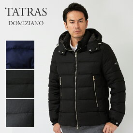 TATRAS タトラス メンズダウンジャケット DOMIZIANO:ドミツィアーノ MTAT20A4289-D Rライン ブラック/チャコールグレー 【dwm】【clm】【nav】