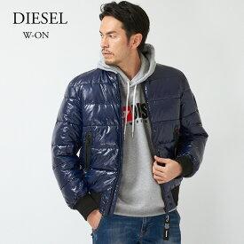 DIESEL ディーゼル ジャケット W-ON 00SWET 0CAVU ネイビー(8AT)