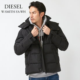 ディーゼル メンズ 中綿ジャケット DIESEL W-SMITH-YA-WH 00SYT0 0GAWA ブラック(900)