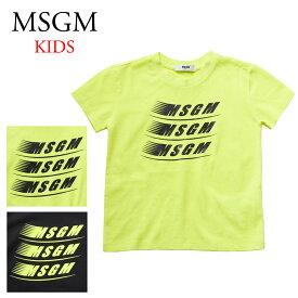 エムエスジーエム キッズ半袖Tシャツ 22404 選べるカラー MSGM 【kid】