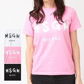 エムエスジーエム レディース Tシャツ 2841MDM60 選べるカラー MSGM 【cll】 【ゆうパケ可】 【cll】
