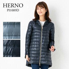 ヘルノ レディース ライトダウンコート PI1089D 12017 選べるカラー HERNO 【cll】