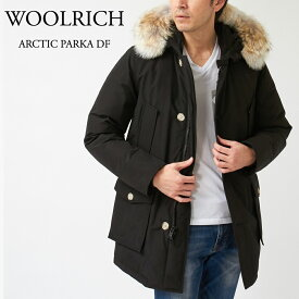 ウールリッチ メンズ ダウンコート アークティックパーカ:ARCTIC PARKA DF WOOU0270 MRUT0108 NEW BLACK WOOLRICH 【clm】