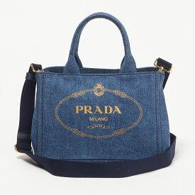 プラダ PRADA 2WAYバッグ 1BG439 AJ6 OYO DENIM ブルー系(F0008 BLUE/GOLD) 【bgl】