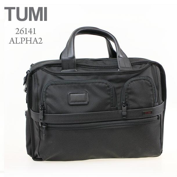 トゥミ バッグ ビジネスバッグ TUMI 26141 ALPHA 2 ブラック 【エクスパンダブル・オーガナイザー・コンピューター・ブリーフ】