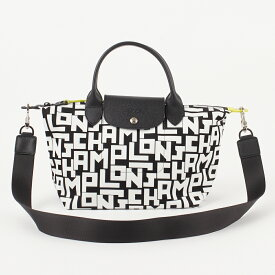 ロンシャン LONGCHAMP 2WAYバッグ 【プリアージュLGP】 Sサイズ 1512 412 ブラック×ホワイト(067/BLACK/WHITE)