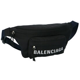 バレンシアガ ウエストポーチ 【WHEEL:ウィール】 533009 HPG1X ブラック(1090/BLACK NAVY BLUE) BALENCIAGA 【bgl】【bgm】