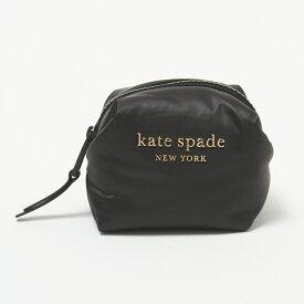 ケイトスペード ポーチ 【EVERYTHING COSMETICS】 MINI COSMETIC PWR00238 ブラック(001 BLACK) KATE SPADE 【skl】
