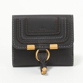 クロエ CHLOE 財布 折財布 3P0572 161 001 【MARCIE:マーシー】 BLACK 【skl】