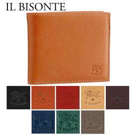 イルビゾンテ 折財布 【CLASSIC】 C0487MP 選べるカラー IL BISONTE 【skm】【fdg】【父の日】【0620wal】
