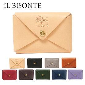 イルビゾンテ IL BISONTE カードケース SCC031 PG0001(C0854P) 選べるカラー 【ゆうパケ可】 【skl】【skm】【rsz】