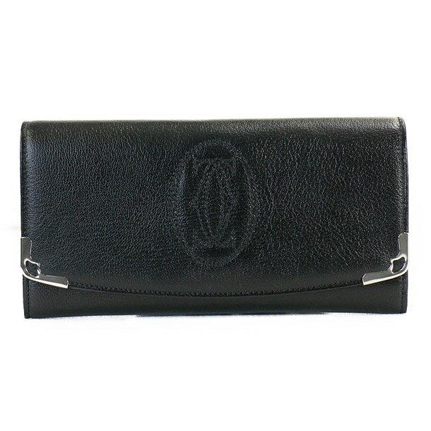 カルティエ 長財布 CARTIER L3001295 ブラック Marcello 【skl】