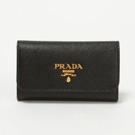 プラダ キーケース PRADA:プラダ 1PG222 QWA NERO 【SAFFIANO METAL】 【skl】【skm】
