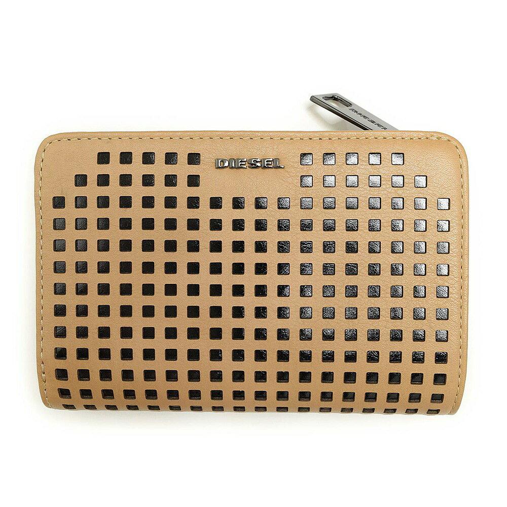 ディーゼル 財布 折財布 DIESEL X03683 PR317 H5988 Croissant/Black BUSY-NESS 【rms】