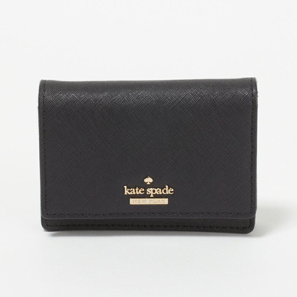 ケイトスペード カードケース/パスケース KATE SPADE PWRU5096 001 Black 【Cameron Street】 Beca