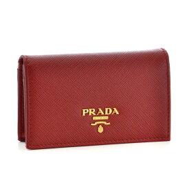 プラダ PRADA カードケース 1MC122 QWA 68Z 【SAFFIANO METAL】 FUOCO 【skl】