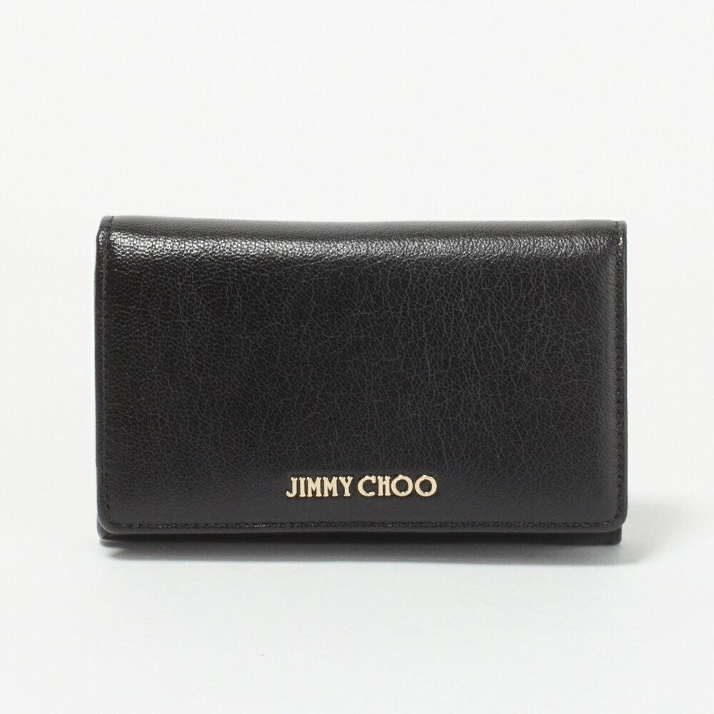 ジミーチュウ JIMMY CHOO 財布 折財布 MARLIE GRZ 010003【MARLIE】 BLACK