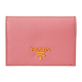プラダ PRADA カードケース 【SAFFIANO METAL】 1MC945 QWA F0442 ピンク系(F0442/PETALO) 【skl】