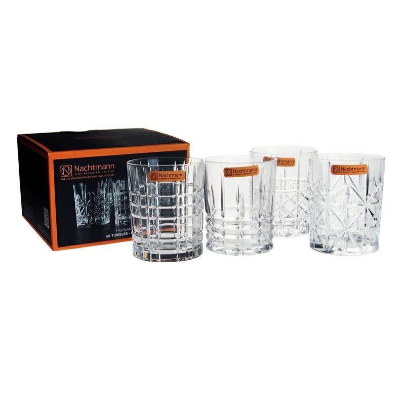 ナハトマン NACHTMANN タンブラー グラス 95906 345ml 4個セット ハイランド クリア