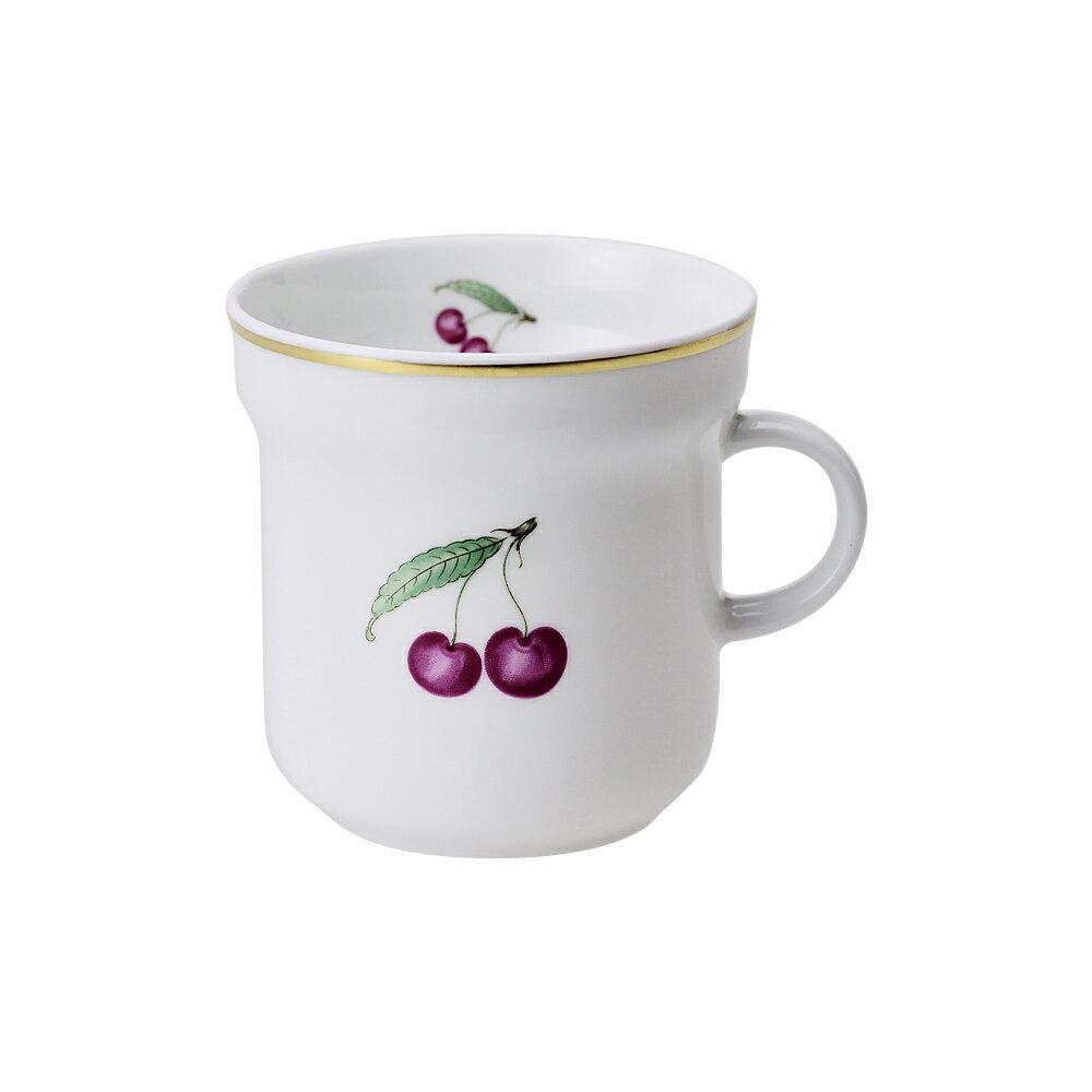 リチャードジノリ RICHARD GINORI マグカップ ボンジョルノチェリー 300ml ホワイト/レッド 【お取り寄せ】