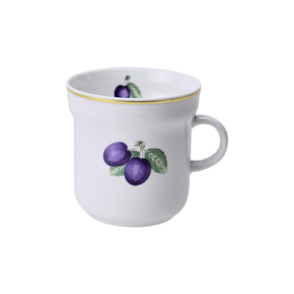 リチャードジノリ RICHARD GINORI マグカップ ボンジョルノプルーン 300ml ホワイト/パープル 【お取り寄せ】