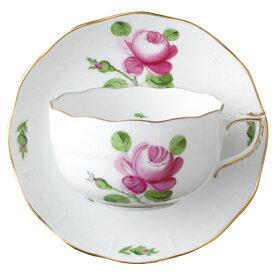 ヘレンド HEREND ティーカップ&ソーサー バラとつぼみ (薔薇と蕾) RB #724 【お取り寄せ】