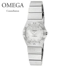 【ご予約会対象品】 オメガ OMEGA 腕時計 レディースウォッチ コンステレーション 123.10.24.60.02.001 シルバー 24mm 【お取り寄せ】
